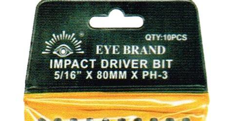 Tjap Mata Eye Brand Kunci Ring Pas Ukuran 26 Mm Cr V eb tools mata obeng
