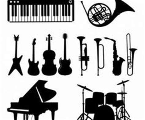 imagenes siluetas musicales vector dibujo grupo musical en el escenario siluetas