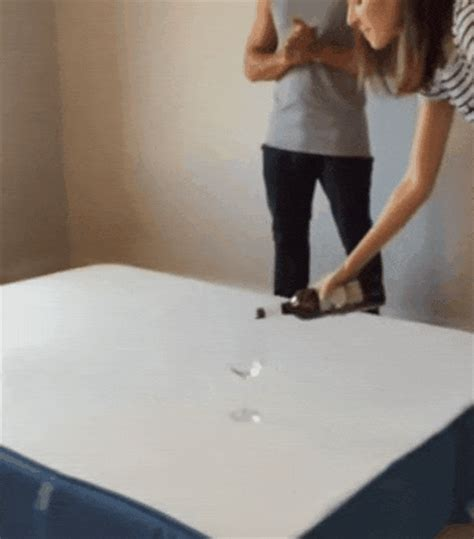 How To Get Wine Out Of Mattress by Quality Satisfying Gif Find On Giphy