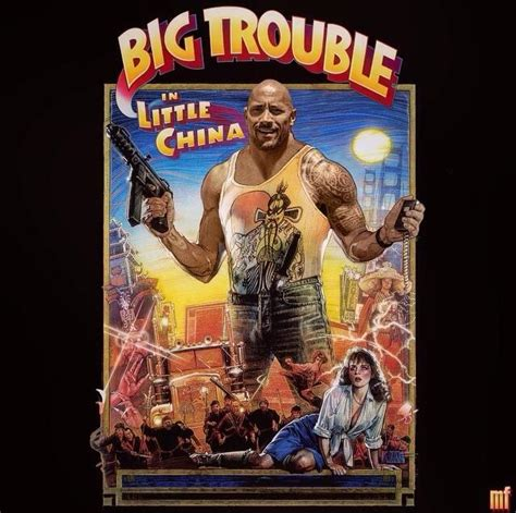 big trouble in little china dwayne quot the rock quot johnson