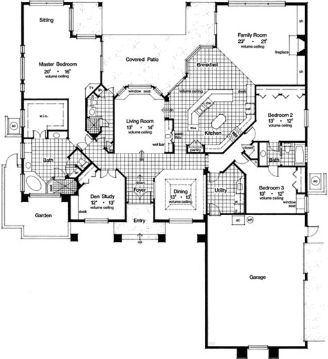 house plans with sunken living room plan 63196hd sunken living room beauty southern house plans room and house