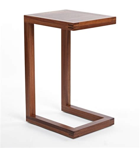 black and hamilton narrow wood top c table c sofa table modern tv tray tables and fabulous ways to