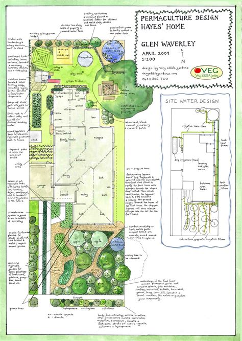 Permaculture Garden Layout Veg Design Solutions Part Ii The Magical Chicken Tunnel The Permaculture Research Institute