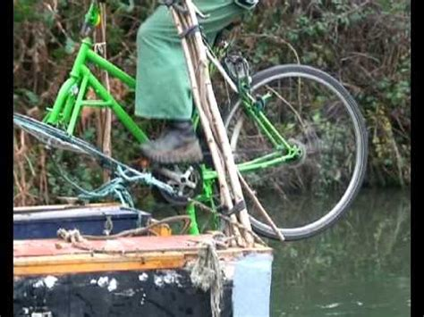 pedal powered canal boat pedal prop safari youtube