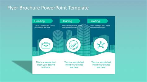 powerpoint flyer templates editable flyer brochure templates slidemodel