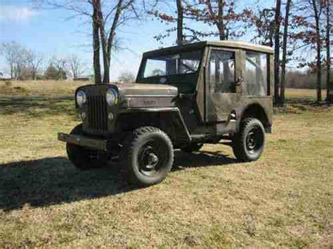 Cj3 Jeep Sell Used 1954 Jeep Willys Cj3 In Adair Oklahoma United