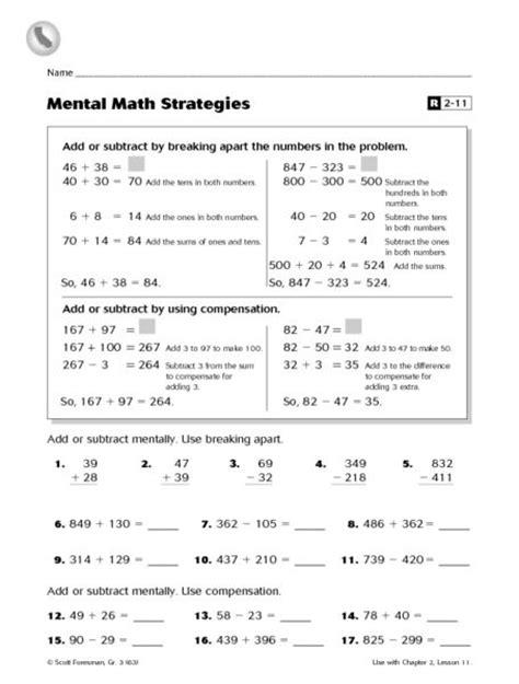 multiplication split strategy worksheets designed by