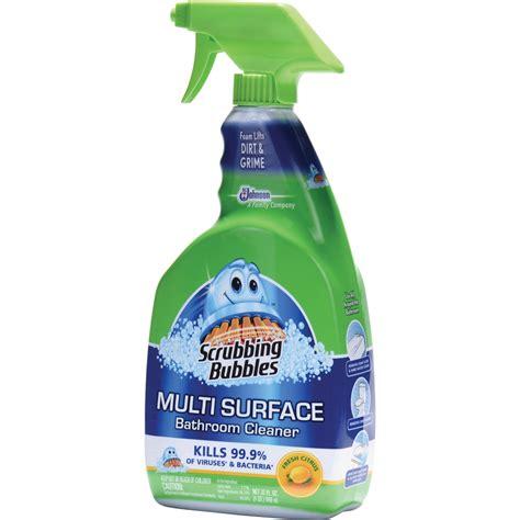 scrubbing bubbles foam bath cleaner foam spray 0 25