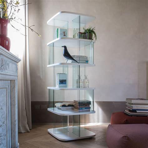 libreria in vetro fenice 6475a libreria tonin casa in vetro e mdf diverse