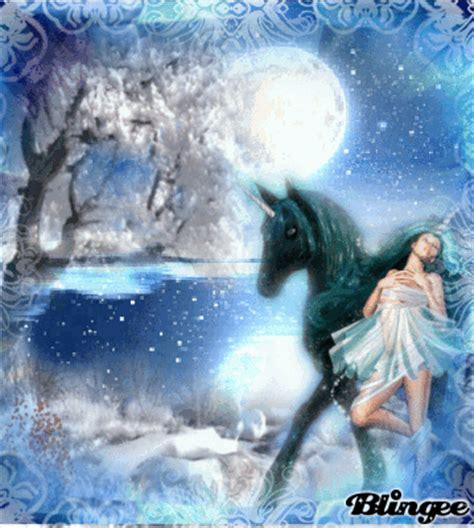 imagenes de unicornios con movimiento el hada del invierno y su unicornio picture 104307963
