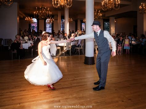 1920 s themed wedding at crown point courthouse region weddings