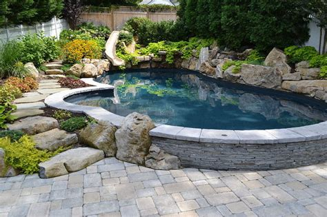 small pools and spas want to see an awesome pool and spa in a small backyard