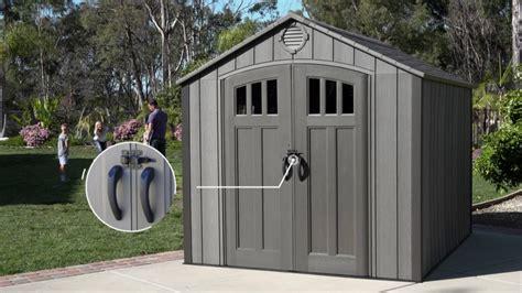 lifetime    storage shed rough cut version