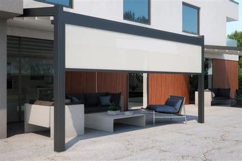 pergole in alluminio per terrazzi classic pergolas pergole in alluminio meta pratic spa