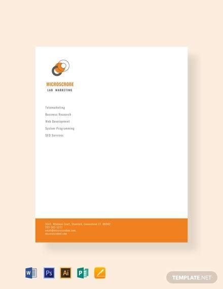 marketing letterhead templates illustrator photoshop