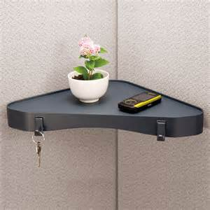 cubicle accessories verticalmate cubicle corner shelf