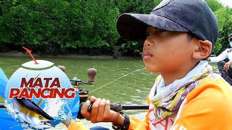 Pancing Kecil hebat anak kecil ini lihai memancing mata