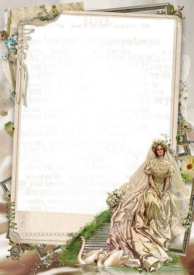 Wedding Album Romantica Psd by Frame Photo Wedding Www Imgkid The Image