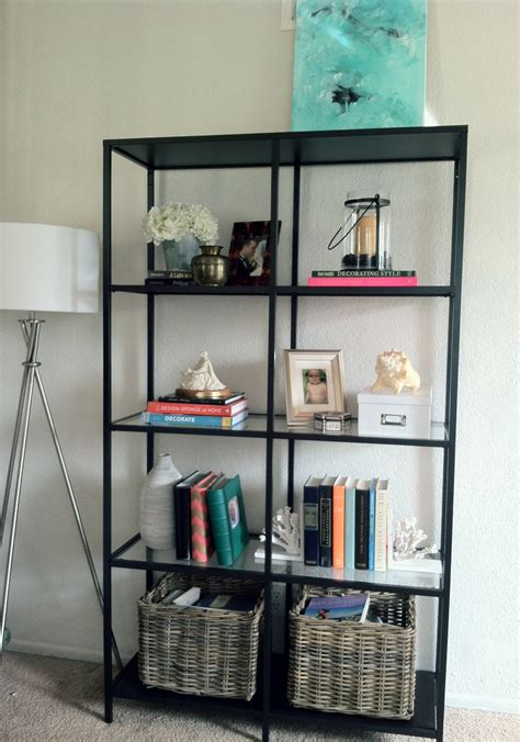 sl designs ikea vittsjo bookcase in the living room