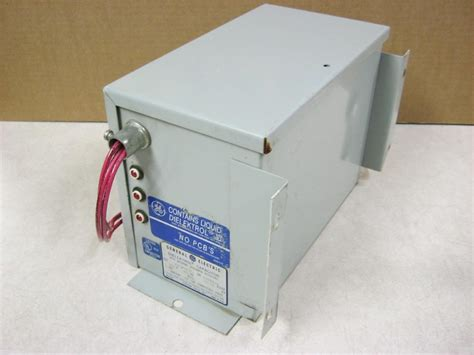 how to discharge three phase capacitor general electric ge dielektrol capacitor 65l809te1 3ph 480v daves industrial surplus llc