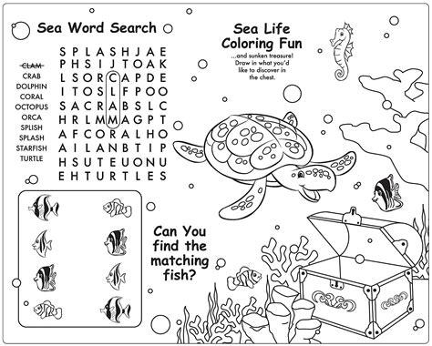 Little Mermaid Activities For Kids Kiddo Shelter Children S Colouring Activity Sheets