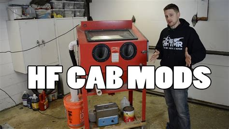 harbor freight blast cabinet modifications 8 must modifications harbor freight blast cabinet