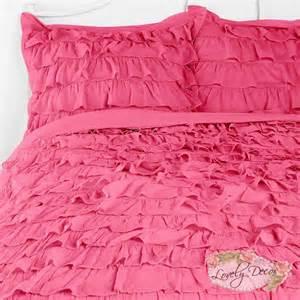 pink ruffle comforter pink ruffle comforter myideasbedroom
