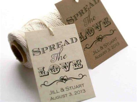 Personalized Wedding Gift Tags   Wedding and Bridal