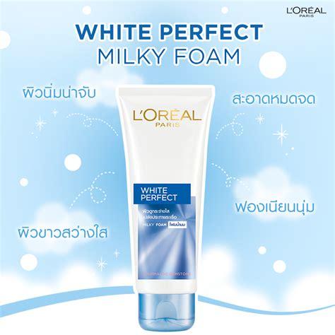L Oreal White Foam 15 อ นด บโฟมล างหน าเพ อผ วขาวกระจ างใส akerufeed