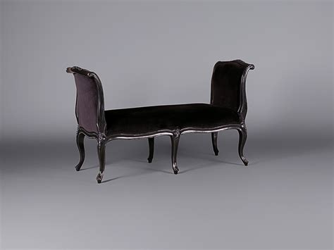 sleigh bench seat louis moulin noir sleigh bench seat sofas furniture on the move