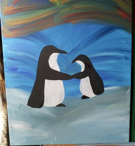 painting penguin 1000 images about penguins on