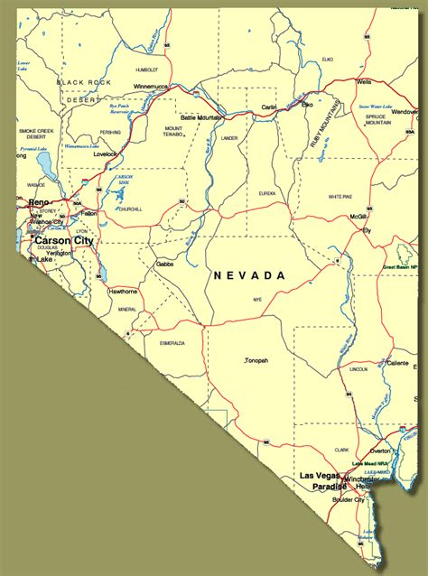 unr map show me nevada