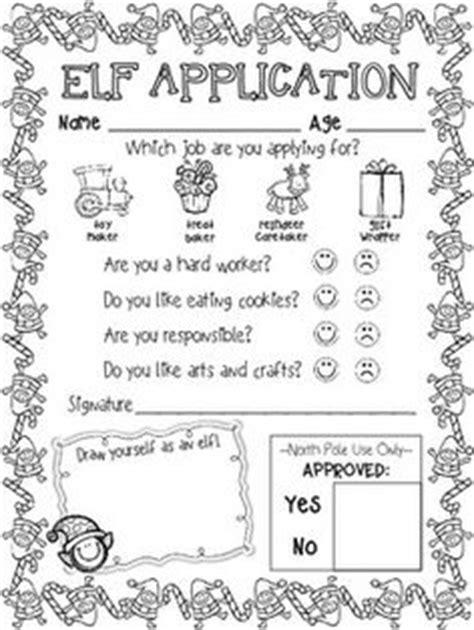 printable elf application christmas ideas on pinterest the polar express elf and