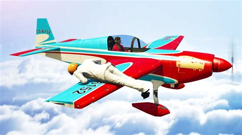 How To Become A Stunt Pilot hold on to the stunt plane gta 5 moments