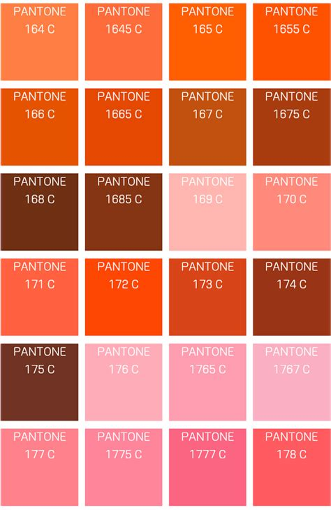 orange color code pantone color info app ranking and store data app