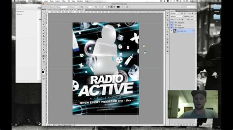 How To Use Radio Active Free Club Flyer Template By Flyerheroes Youtube How To Template
