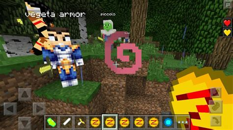 mod game minecraft android saiyan mod for minecraft android apps on google play
