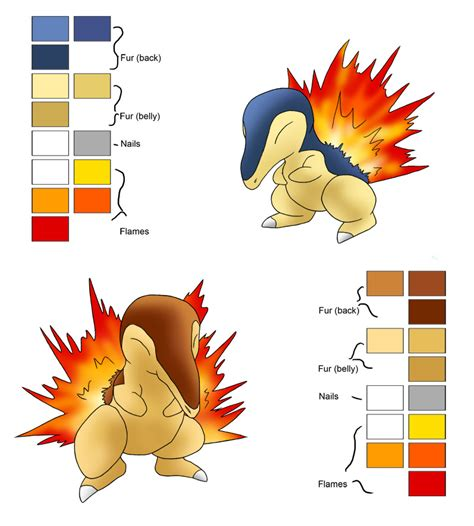 color in cyndaquil by newdeadmaninc on deviantart cyndaquil tutorial 2 by blue uncia on deviantart
