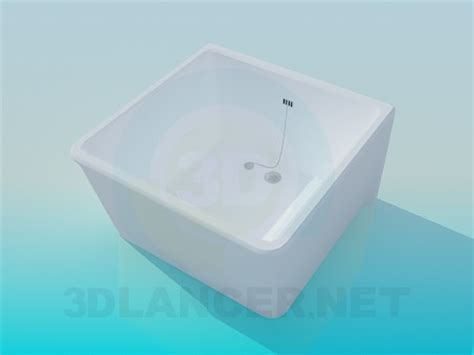Bath And Showers 3d model deep shower tray id 7605