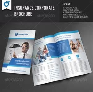 Insurance Brochure Template by 20 Insurance Brochure Templates