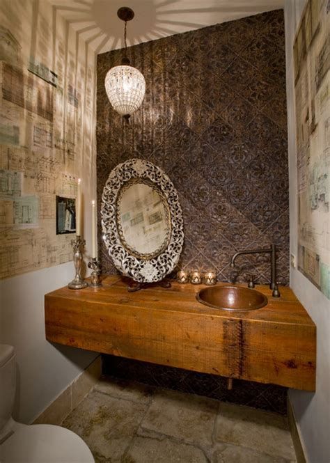 blue eclectic bathroom photos hgtv powder room with bright eclectic powder room