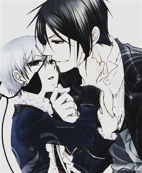 black x black manga sebaciel anime pinterest