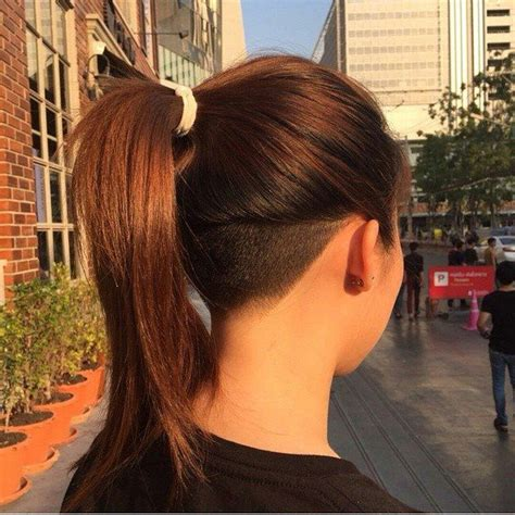 www ponytail with high nape shave haircut com 25 best ideas about nape undercut on pinterest undercut