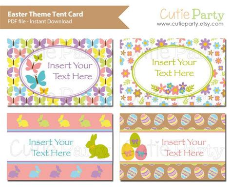 spring themed names 23 best holidays party printable images on pinterest