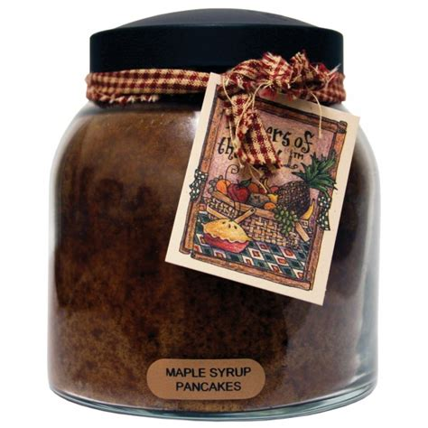 keepers of the light candles maple syrup pancakes 34 oz papa jar keepers of the light