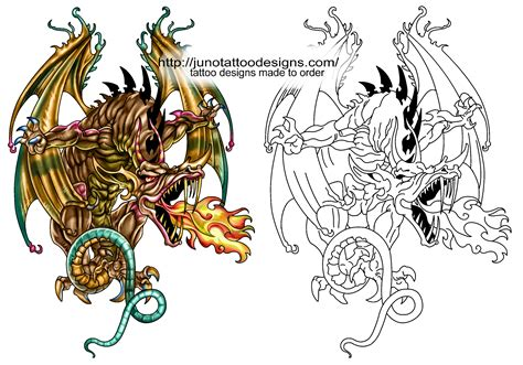 free dragon tattoos designs free designs and stencils custom tattoos made to