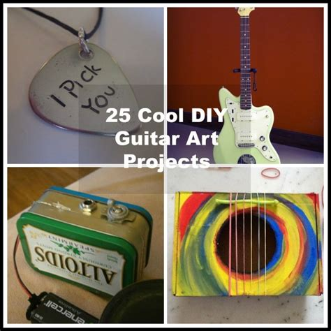 Cat Home Decor Cat Lovers by 25 Cool Diy Guitar Art Projects