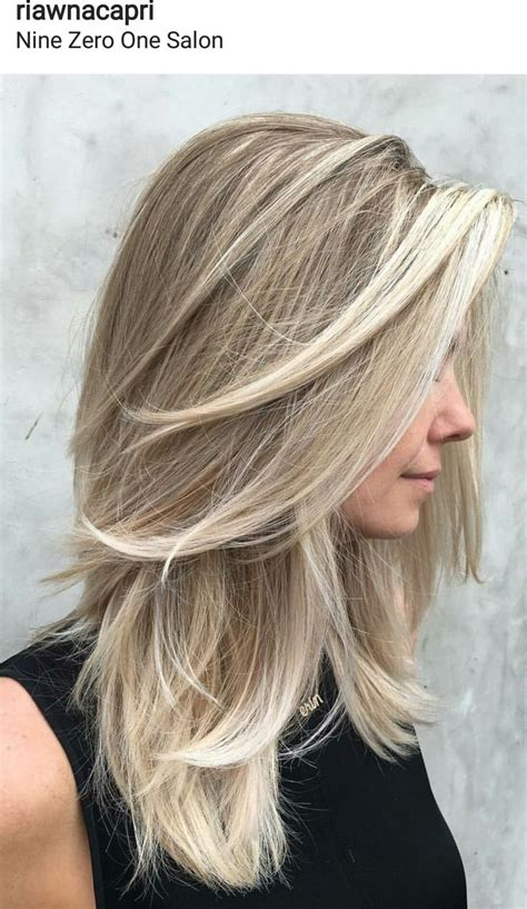 point cut womens haircuts best 25 medium blonde hair ideas on pinterest balayage