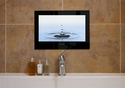 putting a tv in the bathroom need a unique gift idea for the person who has everything
