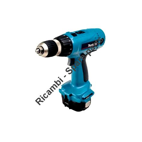 makita spare parts for cordless drill 6317dwde